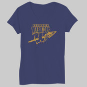 Frederick Warriors - Bella Short-Sleeve V-Neck T-Shirt